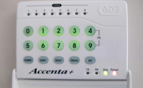 Security Alarm Panel